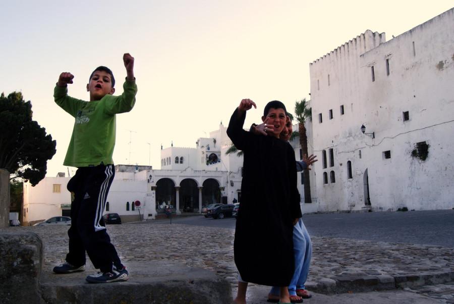 NIños en Tanger