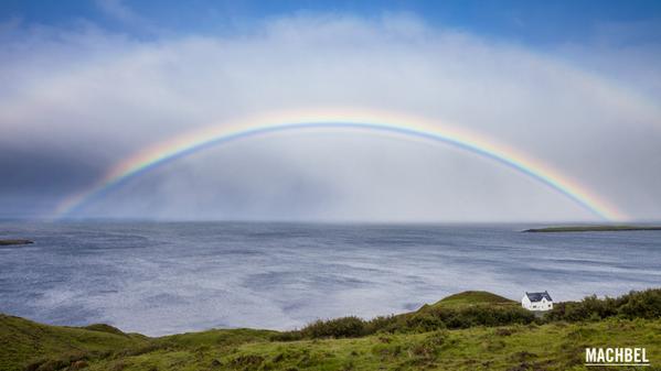 escocia arcoiris