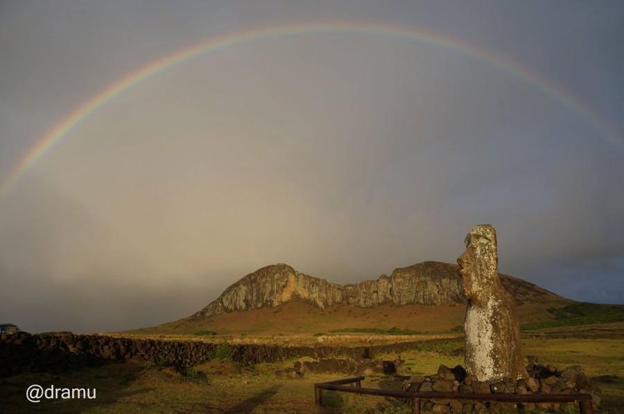 isla de pascua arcoiris