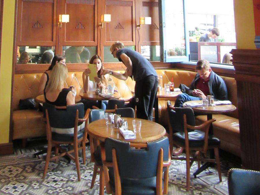 Cafeteria en Nueva York