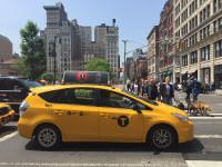 Taxis amarillos en Nueva York