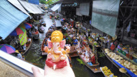 TAILANDIA 1: El mercado flotante de Damnoen Saduak (VÍDEO)