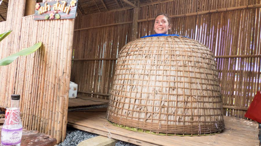 sauna chong