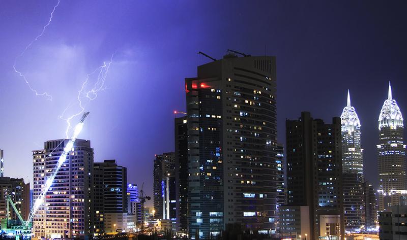 lightning Dubai