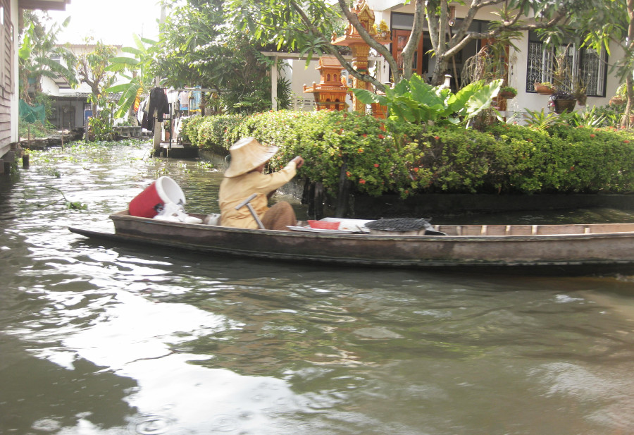 Navegar por el Chao Phraya