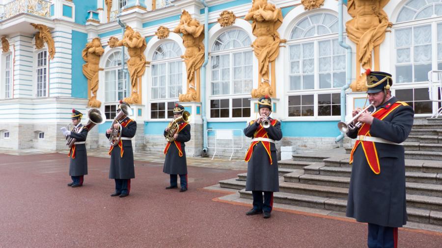 Músicos del palacio de Catalina