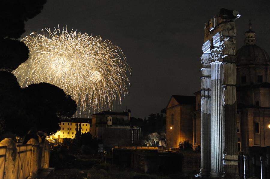 new years rome