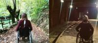 Asturias en silla de ruedas (VÍDEO)