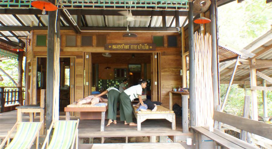 Masaje en el Spa Koh Chang Resort