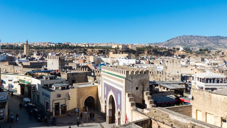puerta medina fez Bab Boujloud