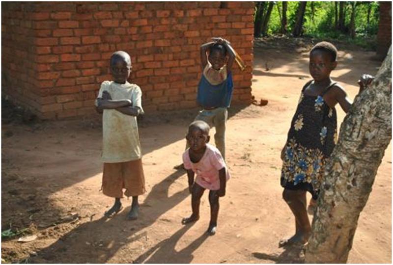 niños uganda