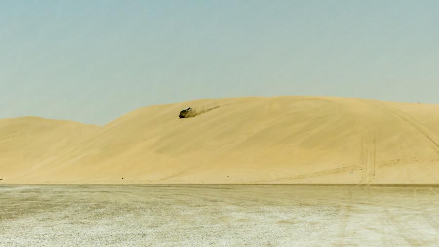 Conducción extrema por las dunas