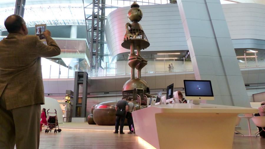 Área infantil del Aeropuerto Internacional Hamad 14