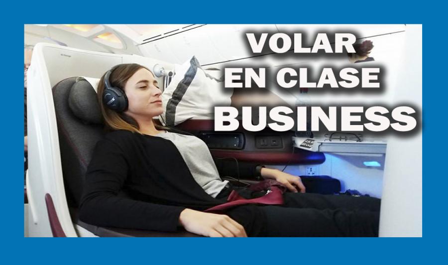 VOLAR CLASE BUSINESS de Qatar Airways