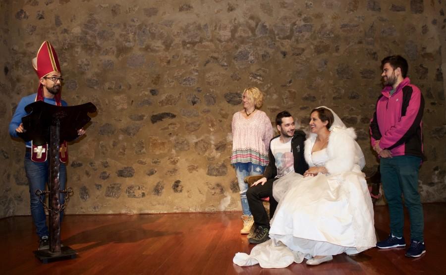 visita teatralizada castillo de Alcaudete
