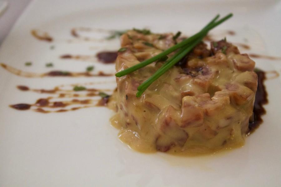 Rincón de Pepe, tartar salchichon