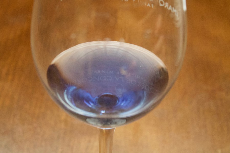 cata vino azul, el Lagar
