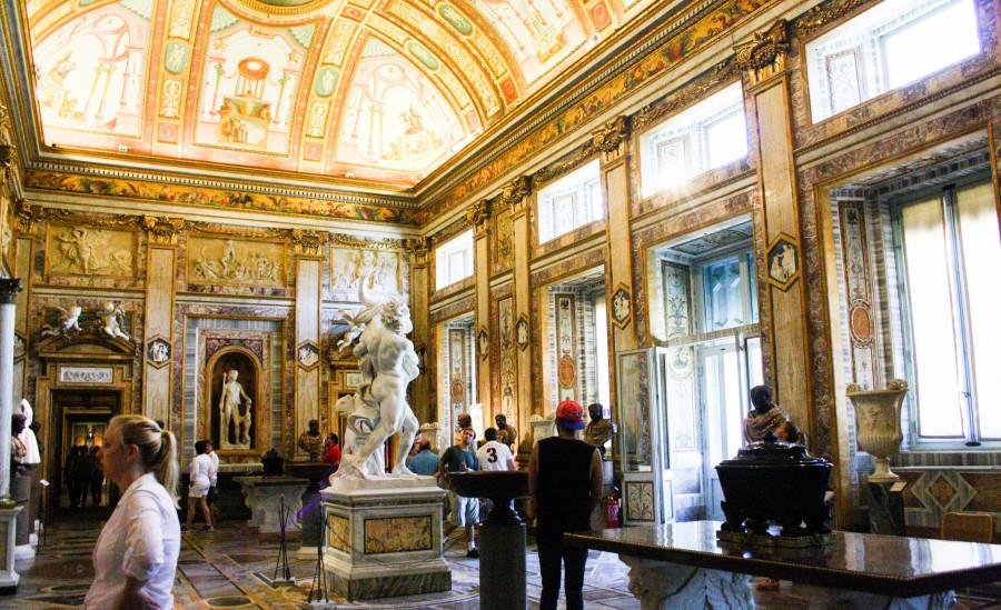 villa borghese galeria