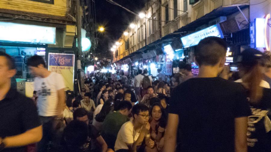 Ambientazo en Hanoi