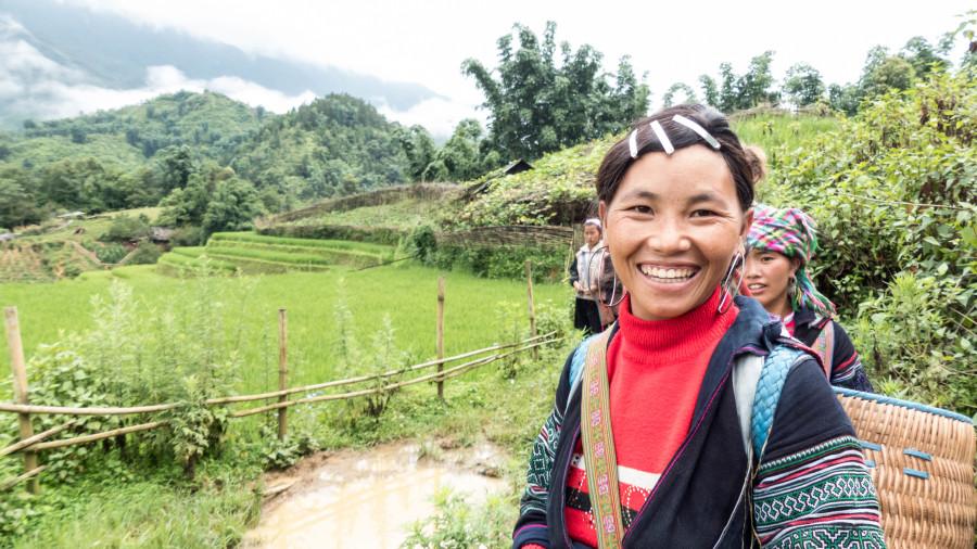Mujeres de Sapa, Norte de Vietnam