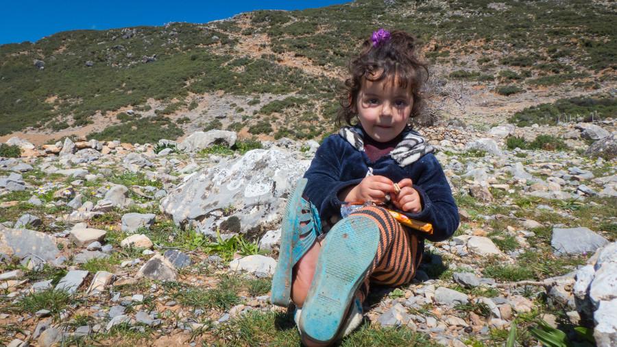niña bereber