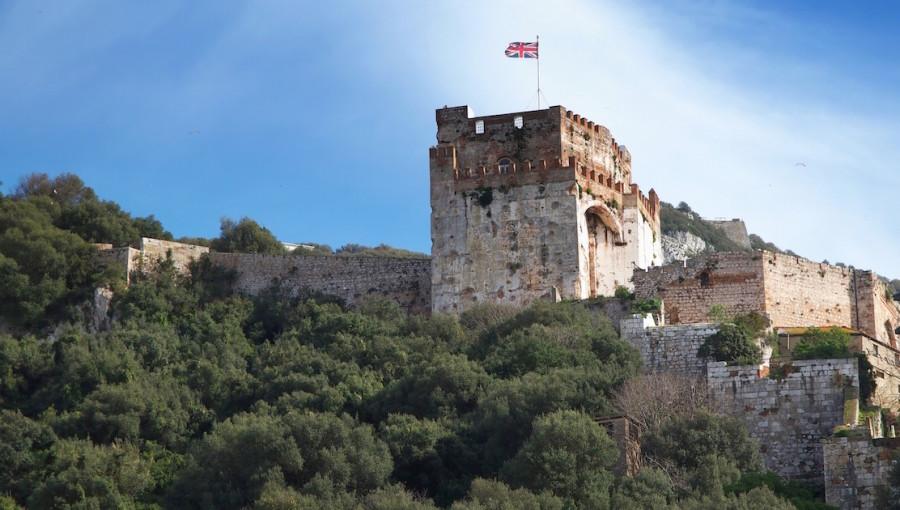 El castillo morisco de Gibraltar
