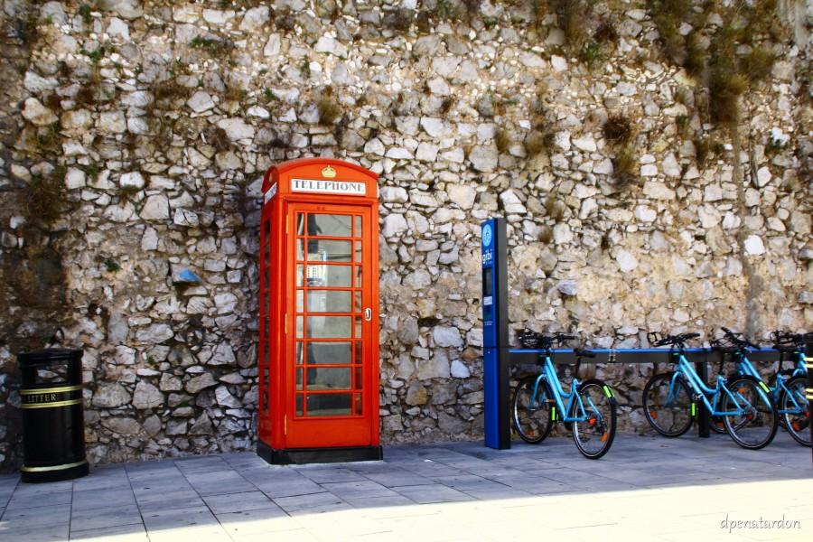 Cabina de teléfono de Gibraltar