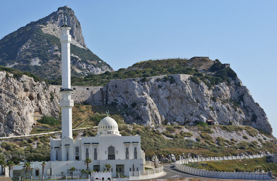 La mezquita Sahih Bukhari de Gibraltar