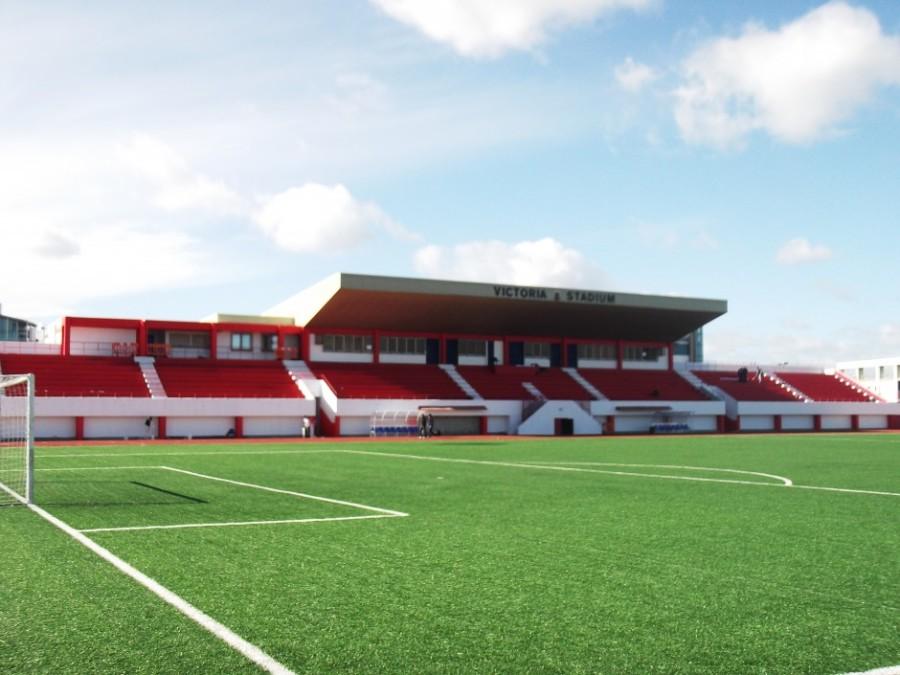 El Victoria Stadium de Gibraltar