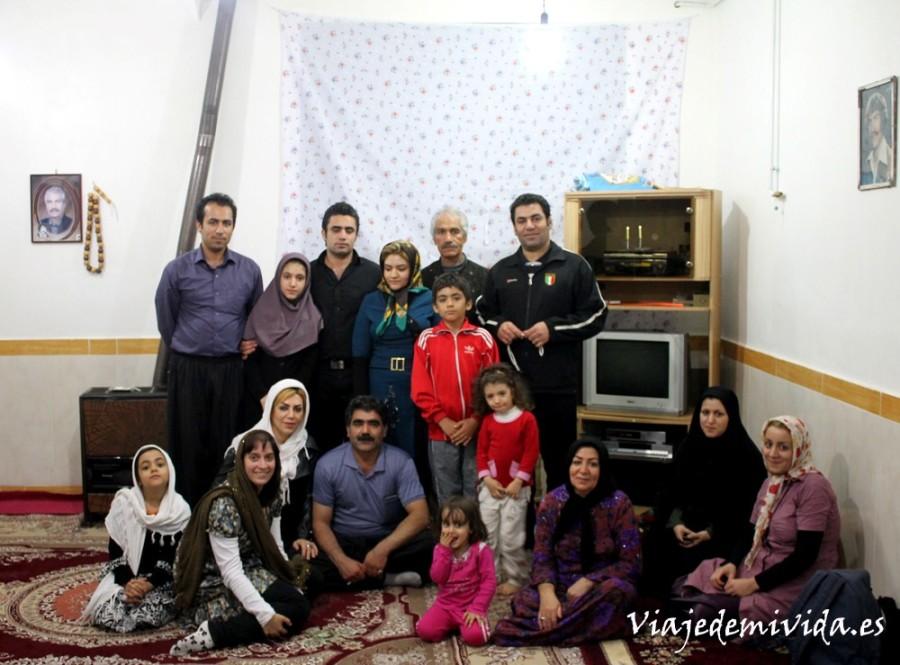 Conviviendo con la gente local de Irán