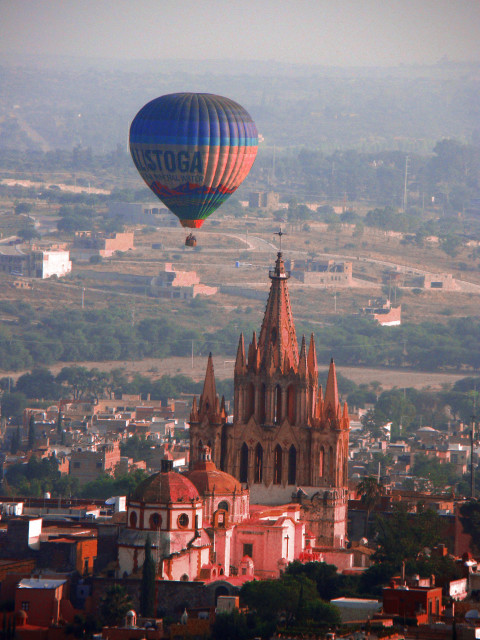 volar en globo mexico