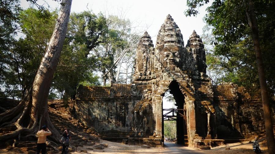 Puerta norte de Angkor Thom