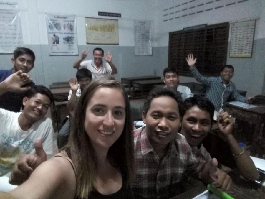 enseñar español