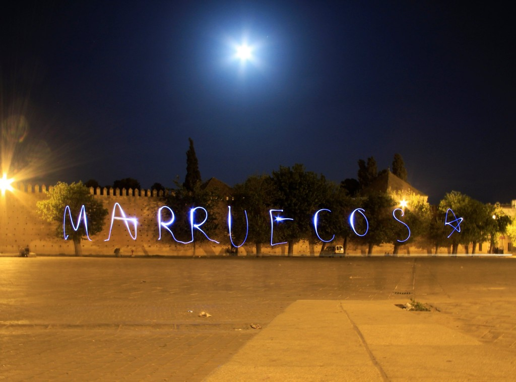 Light art Marruecos