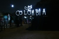 colombia light paint