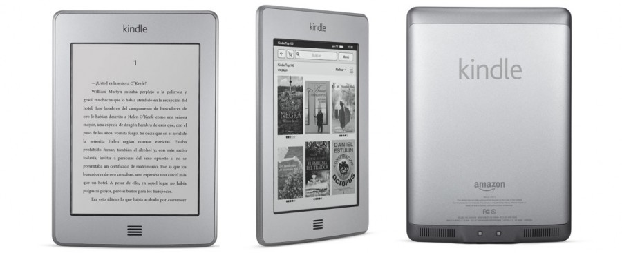 concurso para ganar un Kindle Touch Amazon