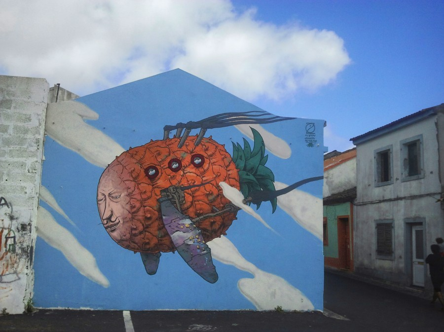 graffiti piña