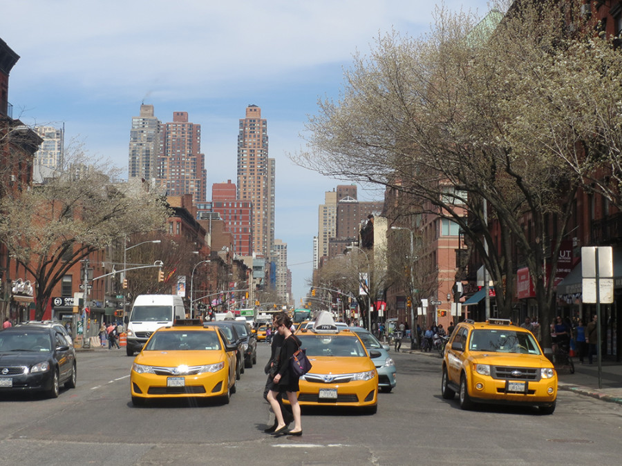 Taxis en Hell's Kitchen